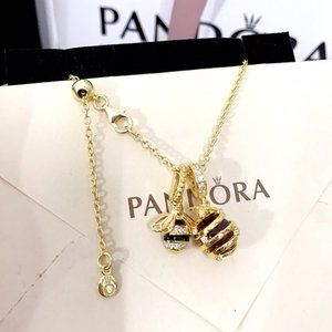Pandora Hive Pendant Necklace